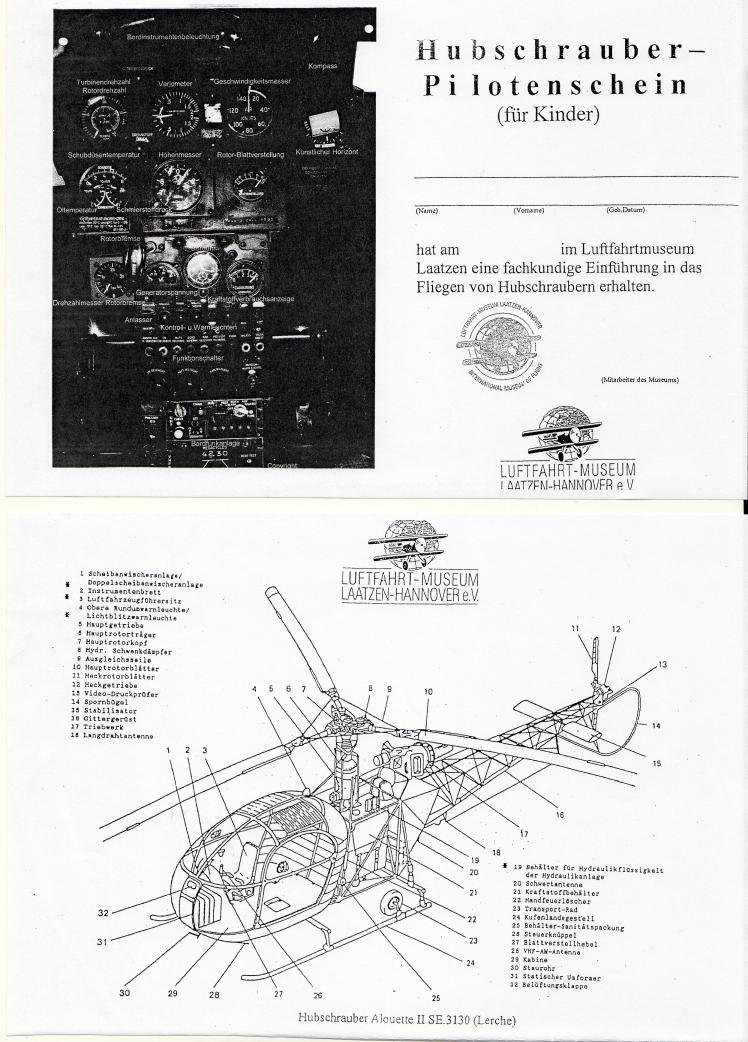 Hubschrauber Führerschein