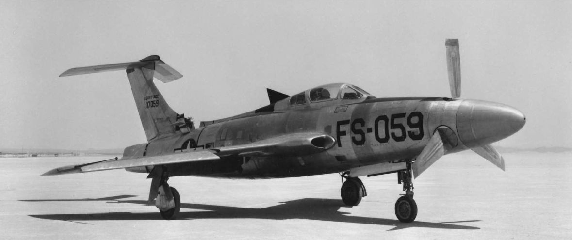 Republic XF 84H Thunderscreech
