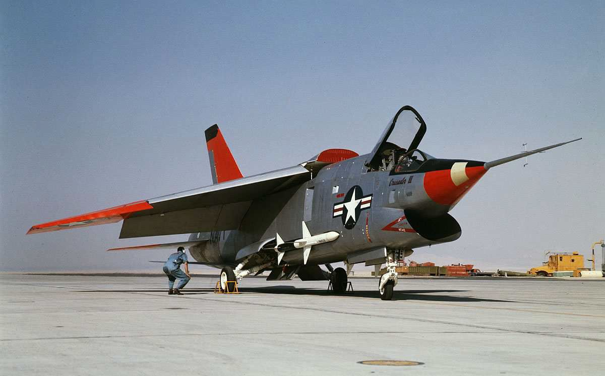 Vought XF8U 3 Crusader